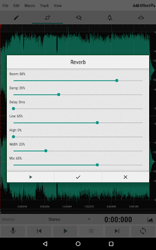WaveEditor for Android™ Audio Recorder & Editor screenshot 11