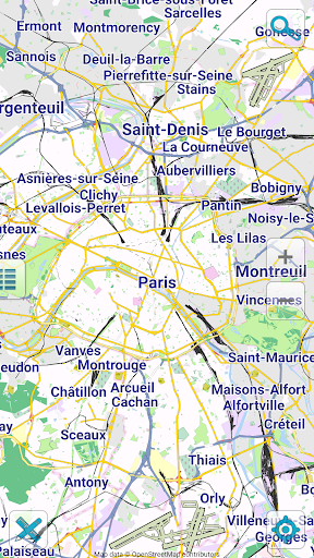 Map of Paris offline screenshot 1
