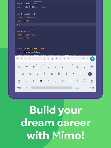 Mimo: Learn coding in JavaScript, Python and HTML screenshot 20