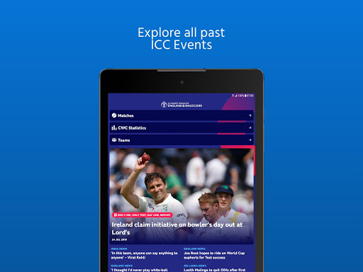 ICC - Live International Cricket Scores & News screenshot 13
