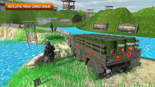 Army Truck Driving 2020 screenshot 2