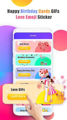 Happy Birthday GIFs & Love Roses Sticker screenshot 3
