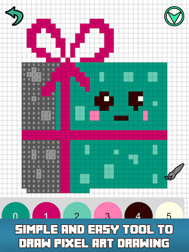 Pixly - Paint by Number,Pixel Art,Sandbox Coloring screenshot 11
