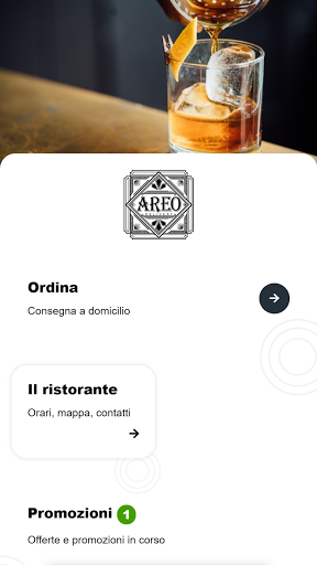 Areo Drink Delivery screenshot 1
