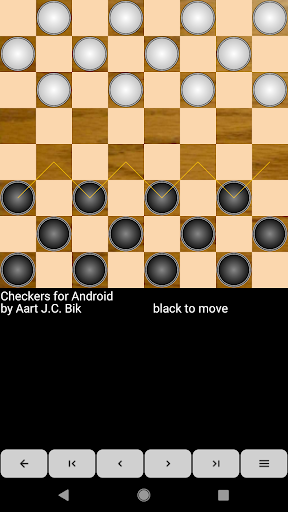 Checkers for Android screenshot 1