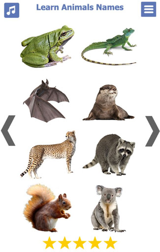 Learn Animals Name Animal Sounds Animals Pictures tangkapan layar 7