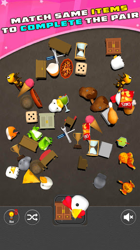 Pair Matching 3D Puzzle Game screenshot 1