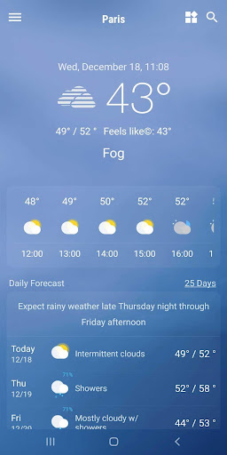 Weather App - Weather Forecast & Weather Live screenshot 8