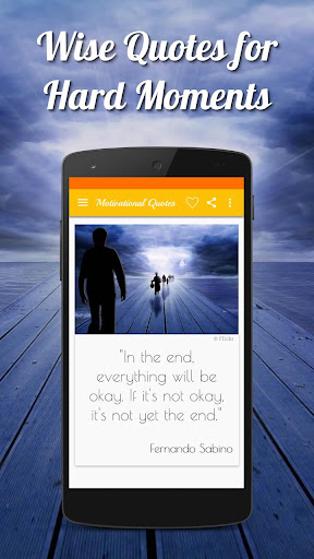 Daily Motivational Quotes in English with Pictures screenshot 8