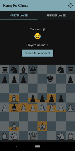 Kung fu chess - Online real-time chess w/o turns♟️ screenshot 1