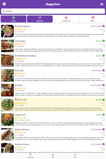 Find Vegan Restaurants & Vegetarian Food screenshot 11