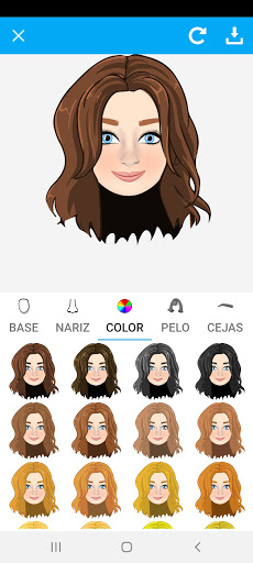 Avatarly: crear avatar emoji para Wastickerapps screenshot 1