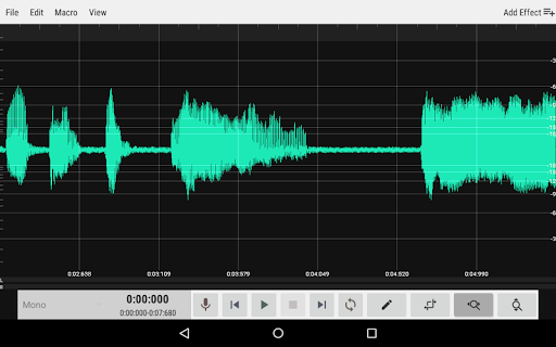WaveEditor for Android™ Audio Recorder & Editor screenshot 9