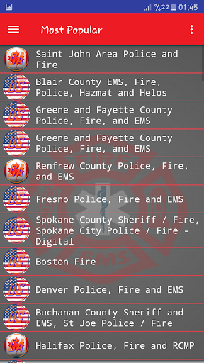 Fire and EMS Scanners screenshot 3