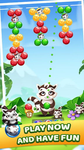 Raccoon Bubbles screenshot 1