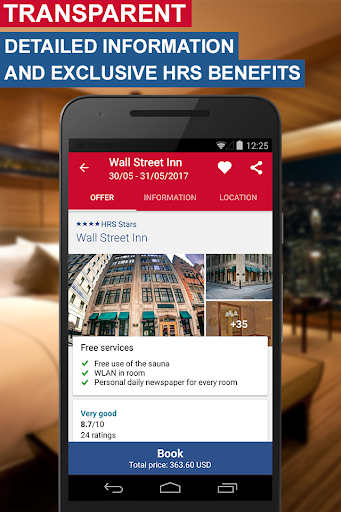 Hotel Search HRS (New) screenshot 5