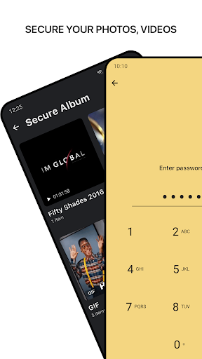 1Gallery - Photo Gallery & Vault (AES ENCRYPTION) screenshot 2
