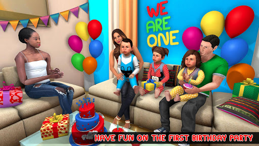 New Mother Baby Triplets Family Simulator screenshot 4