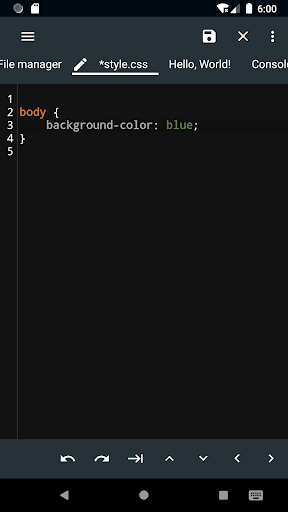 WebCode - ide for html, css and javascript screenshot 6