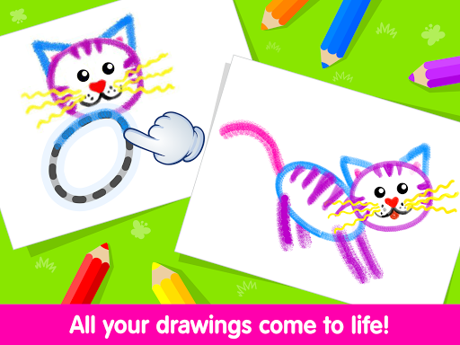 Toddler Drawing Academy🎓 Coloring Games for Kids screenshot 11