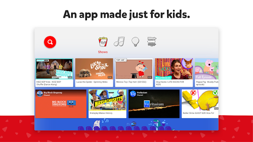 YouTube Kids for Android TV screenshot 1