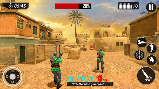 New Free Fire Game 2021:FPS Shooting New Game 2021 screenshot 4