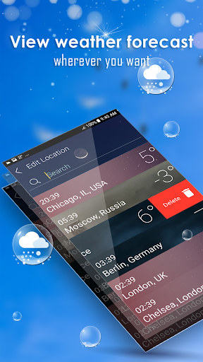 Daily weather forecast screenshot 23