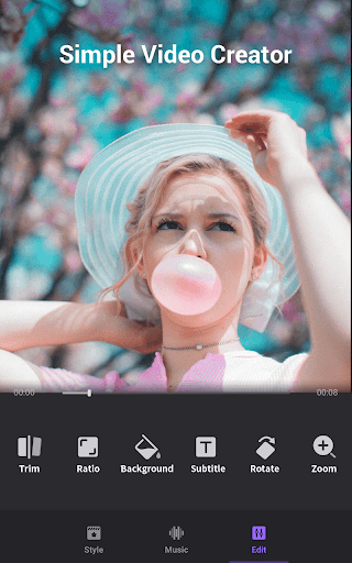 Video Maker of Photos with Music & Video Editor screenshot 3