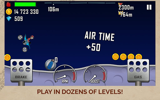 Hill Climb Racing screenshot 14