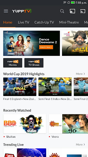 YuppTV screenshot 1