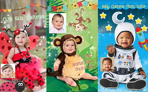 Cute Baby Photo Montage App 👶 Costume for Kids screenshot 13