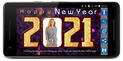 2021 Newyear Photo Frames screenshot 11