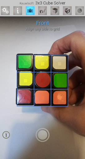 3x3 Cube Solver screenshot 2