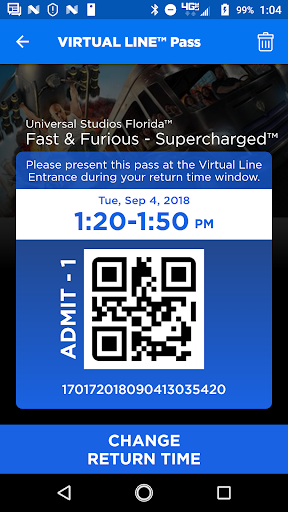 Universal Orlando Resort™ The Official App screenshot 4