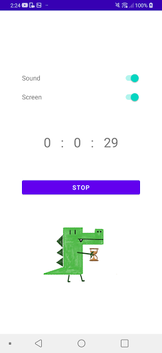 Krokotiili Timer screenshot 2