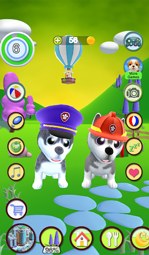 Talking Husky Dog screenshot 1