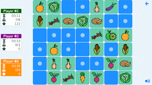 Memory cards free game. Pairs. Concentration. screenshot 15