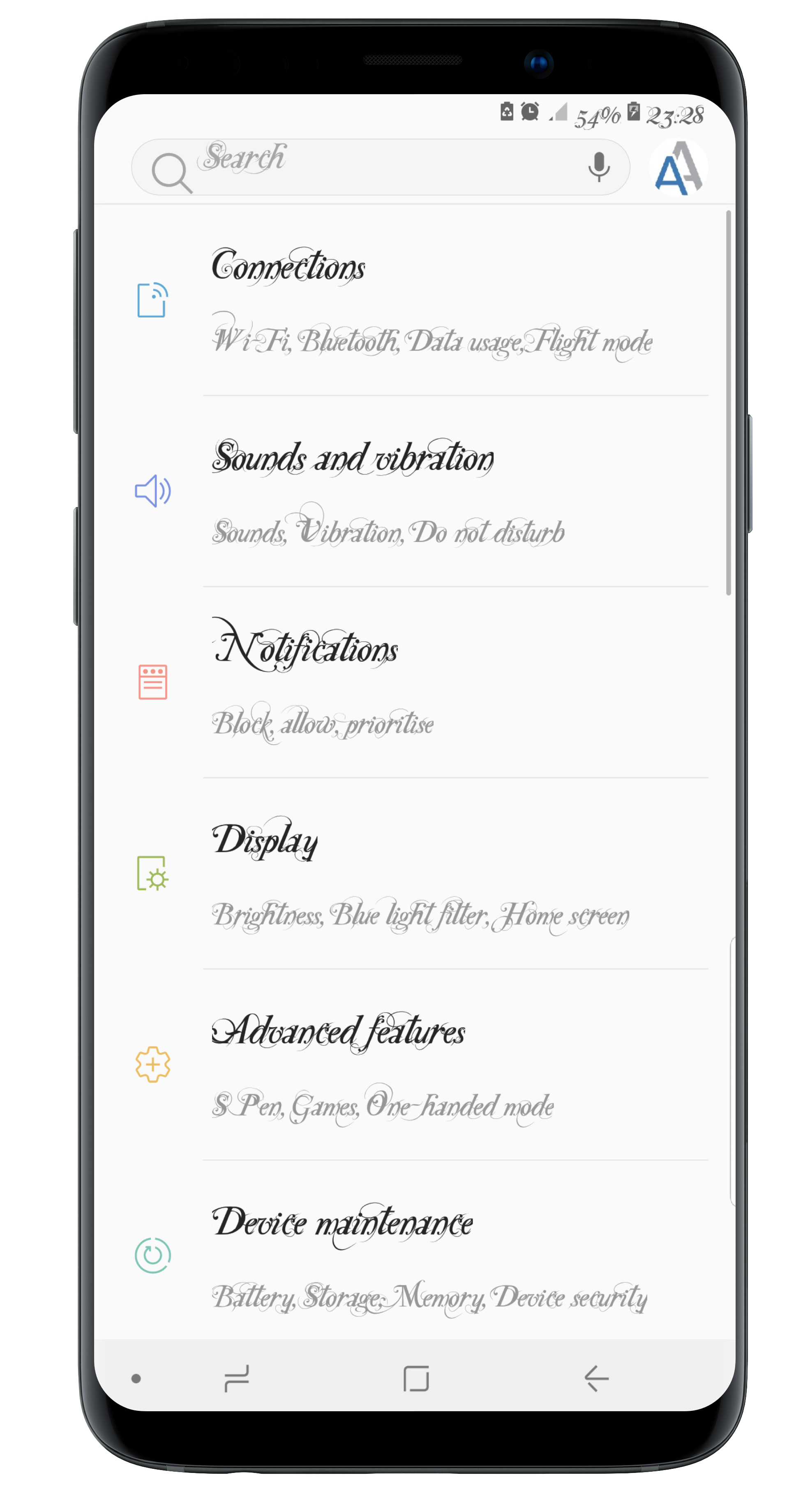 Stylish Fonts for FlipFont, Samsung and Huawei APK