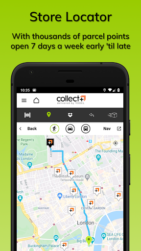 CollectPlus Delivered by Yodel screenshot 3