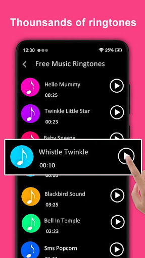 Free Music Ringtones screenshot 1