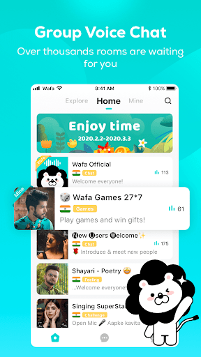 Wafa - Ludo, Voice Chat Room screenshot 1