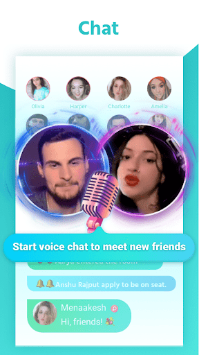 YoYo - Voice Chat Room, Among Us, Clubhouse, Game screenshot 1