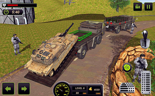 US Army Truck Driving 2021 screenshot 2