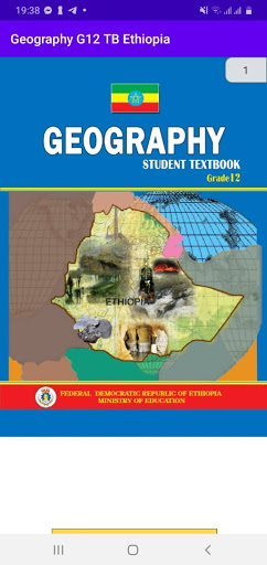 Geography Grade 12 Textbook for Ethiopia 12 Grade screenshot 5