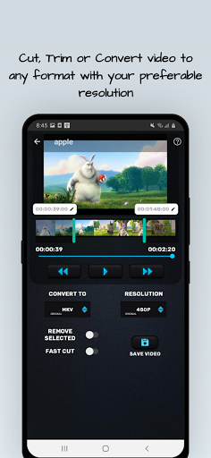 MP4, MP3 Video Audio Cutter, Trimmer & Converter screenshot 7