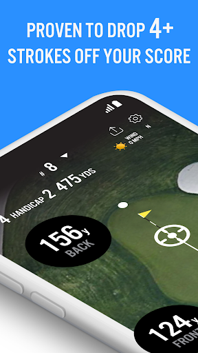 Golf GPS 18Birdies Scorecard & Yardage Rangefinder screenshot 1