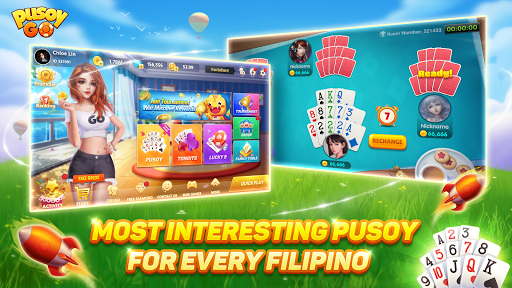 Pusoy Go-Free Tongits, Color Game, 13 Cards, Poker screenshot 2