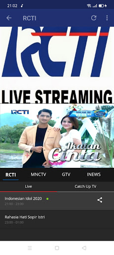 Streaming TV & radio lokal screenshot 13