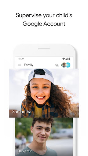 Google Family Link for children & teens screenshot 1