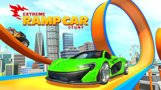 Mega Ramp Car Stunts screenshot 1